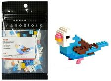 NANO BLOCKS BLUE BUDGERIGAR BUDGIE MINI BRICKS PUZZLE NANOBLOCK GREAT GIFT