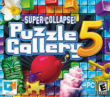 Super Collapse! Puzzle Gallery 5  Win XP Vista 7 8 10   Brand New Sealed PC Game
