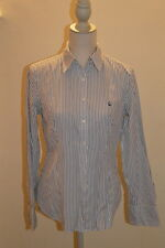 Camicia a righe BENETTON striped shirt M
