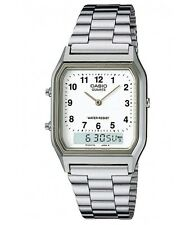 Casio AQ-230A-7B Silver Analog and Digital Watch AQ-230A-7B COD Paypal