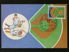 Italia MK 1973 ITALY BASEBALL maximum carta carte MAXIMUM CARD MC cm c6985