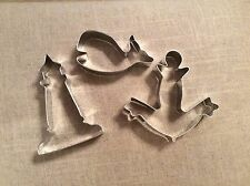 Nautical Cookie Cutters, Set of 3, Lighthouse, Anchor & Whale