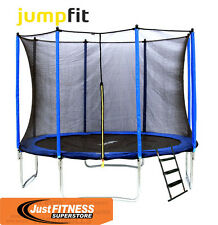 JUMPFIT 10FT CLASSIC TRAMPOLINE OUTDOOR FUN FITNESS FOR ADULTS & KIDS