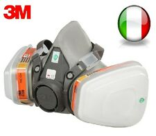 3M 6200 N95 respirator mask with double gas mask protection filter