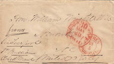 Lettre ST Petersbourg Russia pour United Stated 1857 Cover