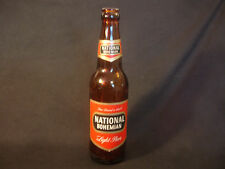 Old Vtg Collectible EMPTY National Bohemian Light Beer Brown Glass Bottle