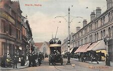 BR64650 west st reading double decker tramway  uk