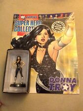 DC Comics Eaglemoss Lead Figure Collectable Figure DONNA TROY With Mag