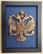 Large Scale Framed 1ST KING's DRAGOON GUARDS BADGE First