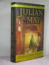 1st, signed by the author, Boreal Moon 2: Ironcrown Moon by Julian May (2005)