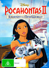 Pocahontas II: Journey to a New World * NEW DVD *