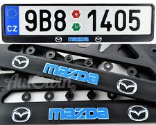 Mazda 6 Hatchback Mazda 2 Sedan Euro Standart License Plate NEW Frames 2pcs