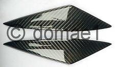 Piccole carbonio per serbatoio MASCHERINA SUZUKI GSX R 1000 GSXR 1000 k5 k6 Rivestimento Serbatoio