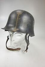 Original Stahlhelm M34 Feuerwehr 3.Reich 2.Weltkrieg World War