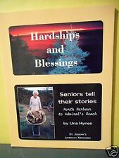 SENIORS TELL THEIR STORIES,NORTH HARBOUR TO ADMIRAL'S BEACH,NEWFOUNDLAND