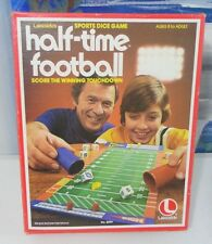 1979 Vintage Lakeside HALF-TIME FOOTBALL Sports Dice Game COMPLETE 8 to Adult