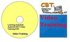 Learning Autodesk AutoCAD 2017 Video Training DVD