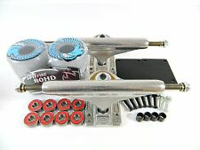 Independent 169 Stg11 Trucks + Spitfire 58mm 80HD Chargers Clear Conical Wheels