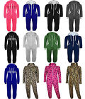 Kids Girls Boys Onesie Hooded All In One Piece Jumpsuit Age 7 8 9 10 12 13 Year