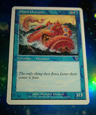 MTG Card -  Giant Octopus 7th Edition