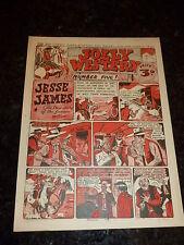JOLLY WESTERN Comic - No 5 - 1947 UK Comic