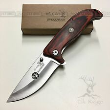 KNIFE COLTELLO ELK RIDGE 156 DA CACCIA PESCA SURVIVOR SURVIVAL FOLDING CAMPING