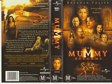 Vhs * The Mummy Returns * 2001 Universal Pictures Home Video - Classic Thriller!