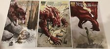 NIGHT OF 1,000 WOLVES #1-3 COMPLETE SET / IDW 2012 CURNOW/ WACHTER