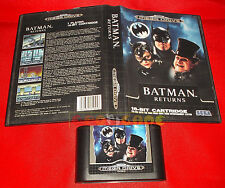 BATMAN RETURNS Sega Mega Drive Return Versione Europea PAL ○ SENZA MANUALE - DH
