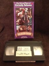 The Life and Times of Grizzly Adams - VHS Video Tape - Beaver Dam - Dan Haggerty