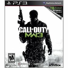 Call of Duty Modern Warfare 3 PS3 with DLCs Sony PlayStation 3 New
