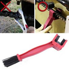 New Style Portable Cycling Motorcycle Gear Chain Brush Cleaner Cleaning Tool Red