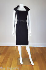 *SAFIYAA* BLACK CUT OUT FITTED DRESS 36 / UK 6 / USA 2