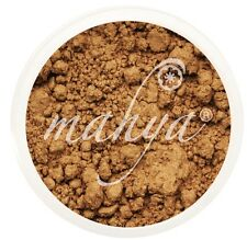 "NEW! MAHYA XL 10g NATURAL MINERAL FOUNDATION, ""MEDIUM TAN""! BEST DEAL!"