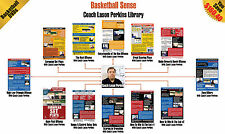Basketball Sense-12 Pack DVD Set Library By Lason Perkins Better Training Dvds