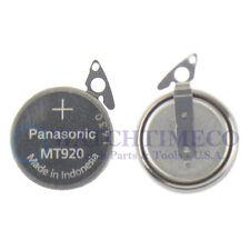 Panasonic MT920 Battery Capacitor Seiko Kinetic 5J21 5J22 5J23 5J32