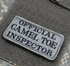 KANDAHAR WHACKER© JSOC USMC SP OPS FORCED RECON SSI OFFICIAL CAMEL TOE INSPECTOR
