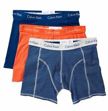 NWT Calvin Klein. Sz L. Men' 3 Pack, Boxer, Multi-Color Solid. MSRP $37.50.