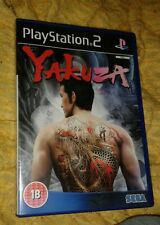 Yakuza Playstation 2 ps2 versión PAL Sega Reino Unido