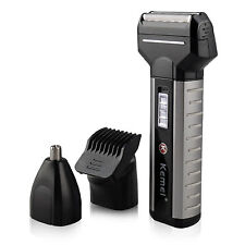 Electric Cordless Men's Shaver Razor Beard Removal Hair Clipper Trimmer Groomer