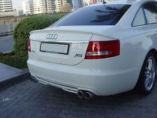 Rear Trunk Spoiler for Audi A6 C6 ABT Type Saloon 2004-2008