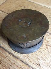1916-1918 LARGE TRENCH ART, CAP , 4.5 SHELL CASE , Howitzer.