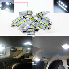 Xenon White LED Interior Light Kit 16 Bulbs FIT Volvo V70 Estate XC70 2008-15 W1