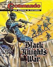 Commando For Action & Adventure Comic Book Magazine #1620 BLACK KNIGHT'S WAR