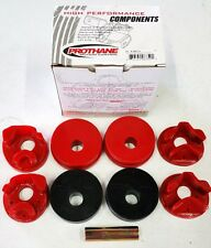 PROTHANE 92-95 HONDA CIVIC / DEL SOL 3-SET MOTOR MOUNT BUSHING INSERTS RED KIT
