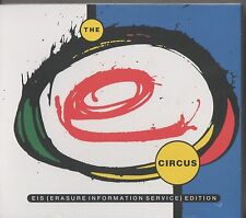 Erasure SEALED EIS 2x CD +DVD The Circus ERASURE INFORMATION SERVICE