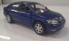 Toyota Corolla voiture bleue Jouet miniature moulage sous pression 1/36