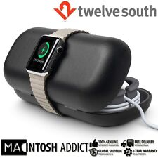 Twelve South TimePorter Travel Accessory Case + Stand For Apple Watch BLACK