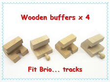 Thomas the tank engines wooden train track Stop, Buffer x 4    Fits Brio...new