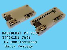 WHITE Raspberry Pi Zero Case With GPIO Access Laser Cut Acrylic